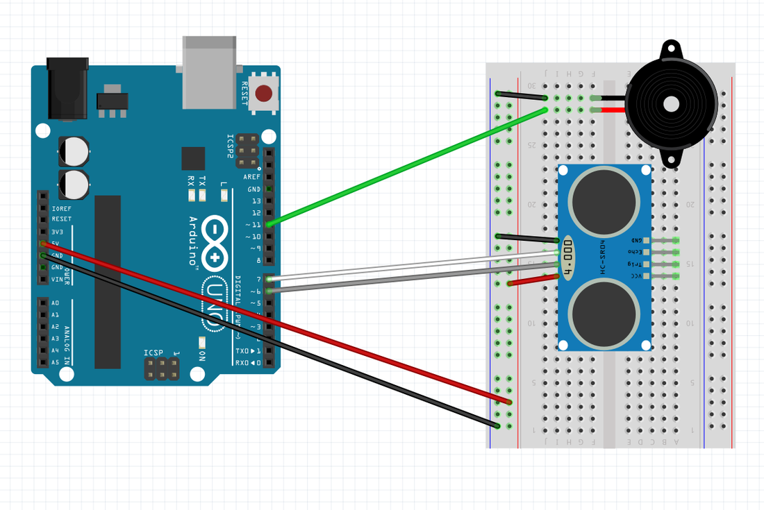 Ultra Sonic - STEMify with Arduino